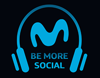 Be More Social / Movistar / Radio