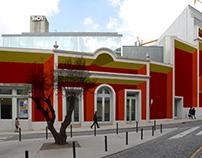 Fachada do TeCA - Teatro Carlos Alberto