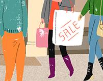 The Sunday Times magazine 'Shoppers'