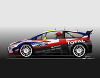 Citroën C4 WRC livery