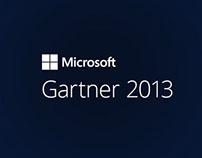 Microsoft Gartner 2013 app
