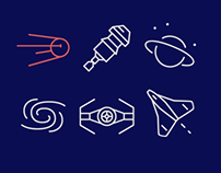Infinity Space Icons