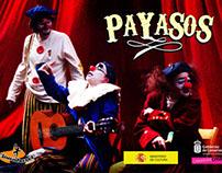 """Diseño de indumentaria de """"Payasos"""""""