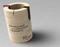 Business Gift - Bamboo Clock