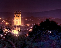 Ludlow at Night