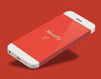 Musify app concepten