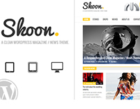 Skoon - WordPress Magazine / News Theme
