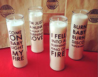 Lyric Candles