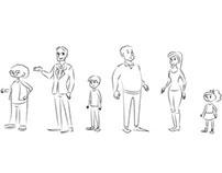 Mirjam Maakt Overview: Character design