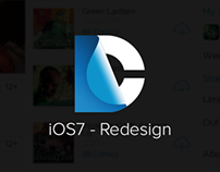 DC Comics - iOS7 Redesign