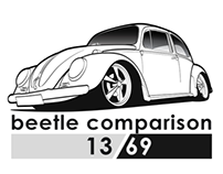 VW beetle comparison 13/69