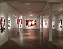 2013 solo exhibition,Unix Gallery,Miami