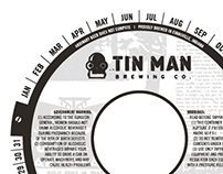 Tin Man Brewing Co. Keg Collars