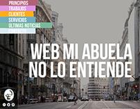 WEB MI ABUELA NO LO ENTIENDE