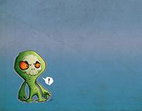 Cartoon Character WIP