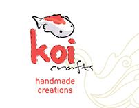 Koi Crafts Logo & Branding