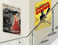 Music Posters from the 40's - 80's