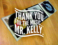 Album Cover and Civic Plaque honouring Mr. Danny Kelly