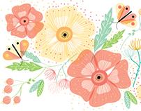 Verano, calor y flores.