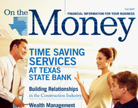 "Texas State Bank ""On the Money"""