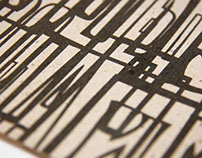 "Zine ""Old Vilnius Typography"""
