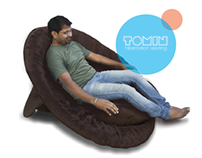 TOMIN- convertible seating for hibernation.