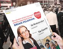 Brian Feldman Political Direct Mail