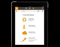 UI / Visual Design - Desktop & Tablet for a SaaS App