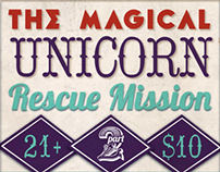 The Magical Unicorn Rescue Mission: A Benefit Concert