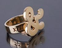 XXII Ampersand Ring