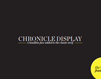 Chronicle Display Font Book