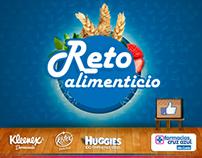 Reto Alimenticio - Diseño de App para Facebook