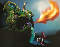 Dragon slayer zbrush
