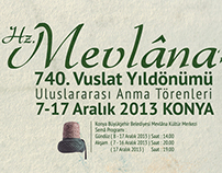 Mevlana's 740th Reunion Anniversary