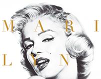 Marilyn Monroe infographic