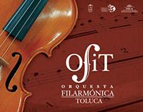 Diseño de CD para Orquesta Filarmónica de Toluca OFIT
