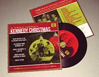 "KennedyC ""Christmas Album"" Holiday Invite"