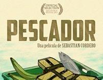 Afiche Ilustrado Pescador