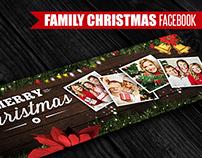Family Christmas | Facebook Cover