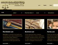Gerstein Grayson & Cohen Web Design