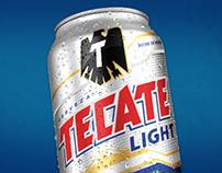 Tecate tecate light radio campaign on behance tecate light ooh campaign mozeypictures Choice Image
