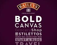 Baileys - Bold Canvas (Concept)