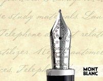 MONT BLANC // Archive Mag Award-Winning Print Campaign
