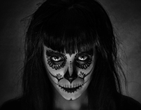 Mexican Skull Make Up