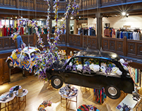Levi's X Liberty Retail