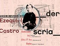 Afiche Ezequiel Castro