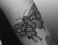 Butterfly Mummy Tattoo