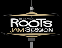 6th Annual Roots Jam Session - Logo