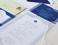Jessica + Enrique Wedding Stationery