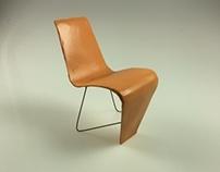 Bellevue Chair: 1:4 scale model